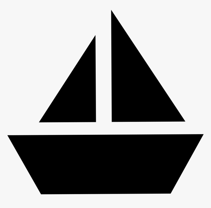 Sailboat Icon - Boat Svg, HD Png Download, Free Download