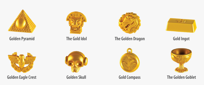 Treasure X Golden Dragon, HD Png Download, Free Download
