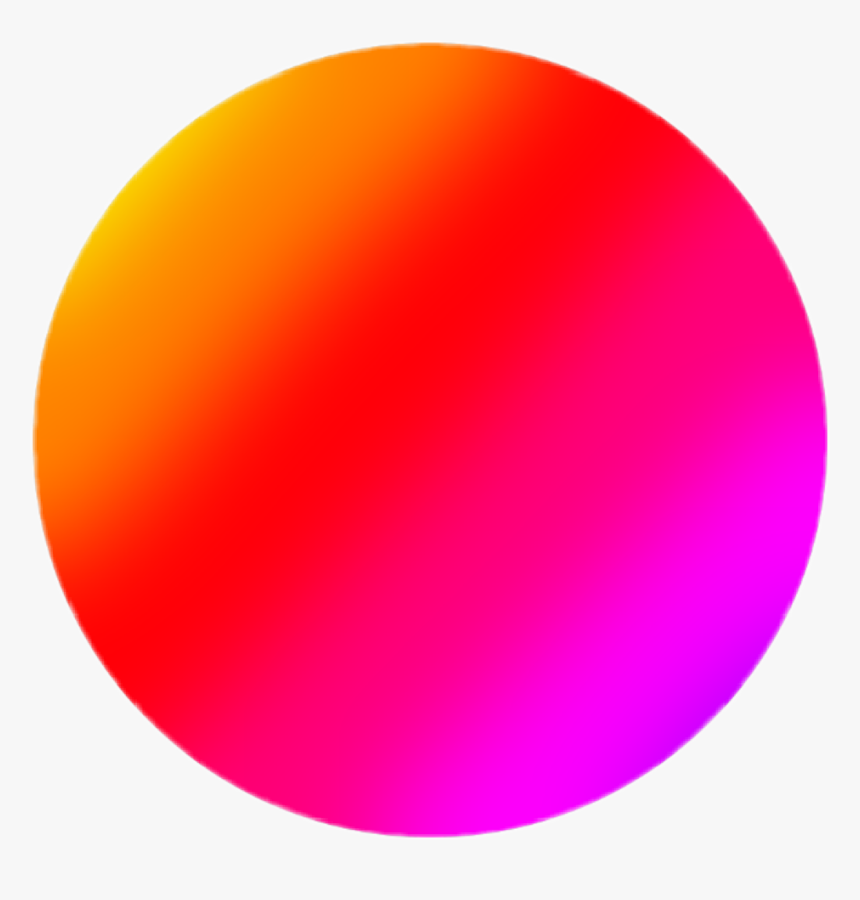 #gradient #circle #glitter #glitch #sparkle #shine - Circle, HD Png Download, Free Download