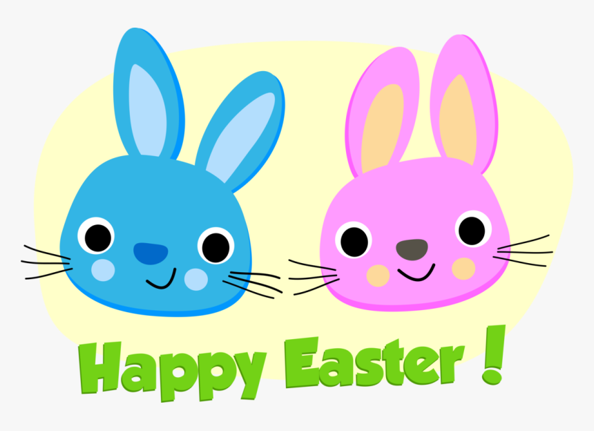 Easter Bunny,whiskers,snout - Joyeuses Pâques, HD Png Download, Free Download