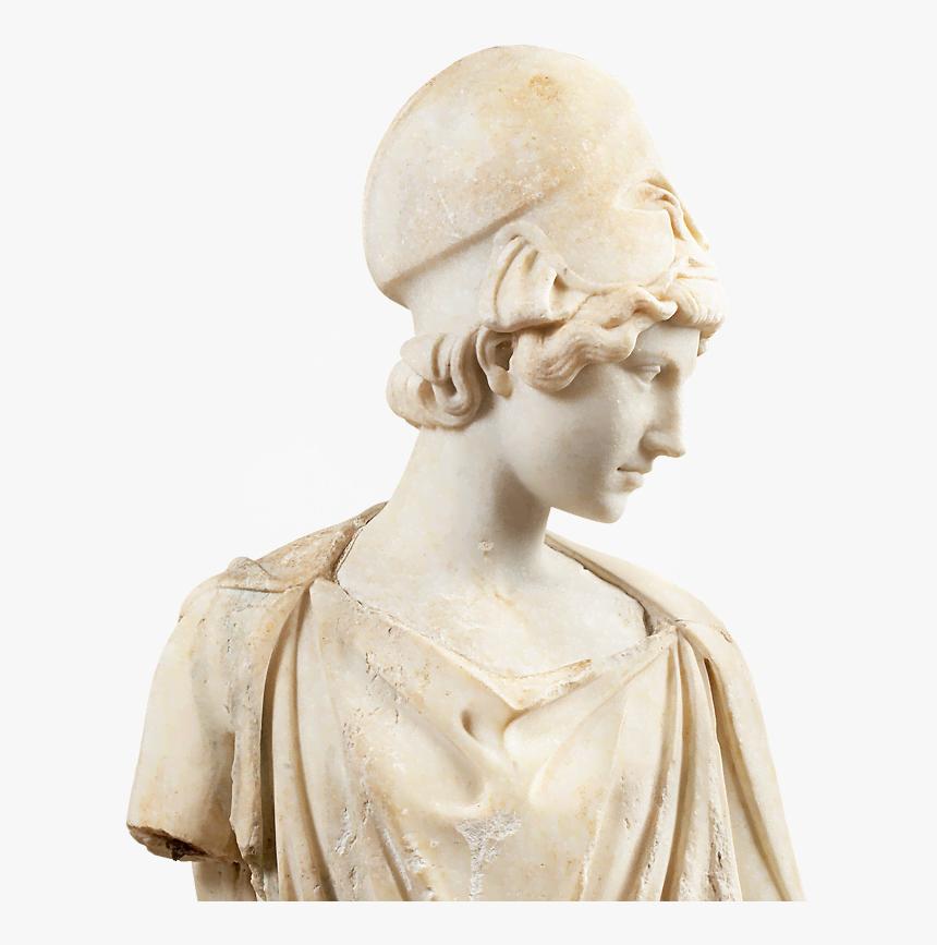 Athena Sculpture Png, Transparent Png, Free Download