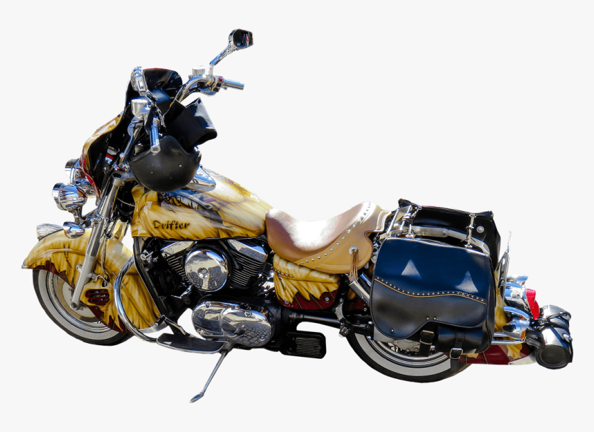 Motorcycle Drifter - Motorcycle, HD Png Download, Free Download
