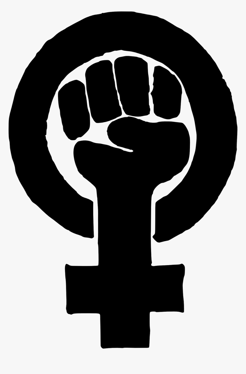 Fist Clipart Equality - Black Feminist Symbol, HD Png Download, Free Download