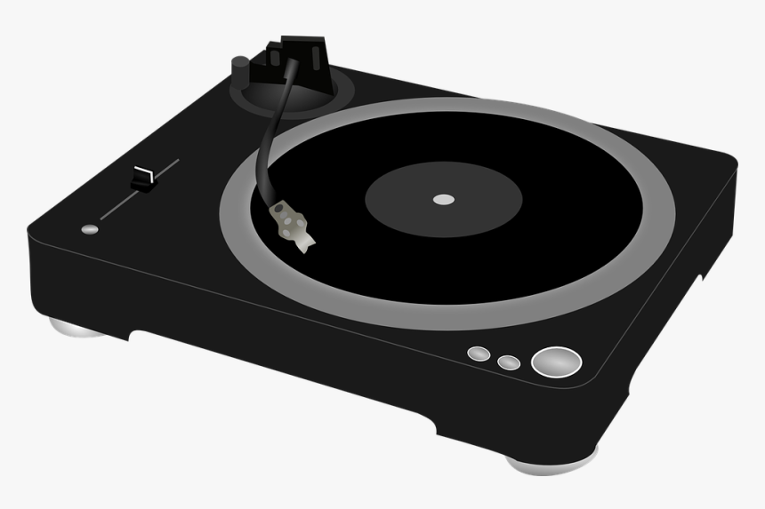 Record Player, Gramophone, Turntable, Vinyl, Music - Animation Record Player Animated, HD Png Download, Free Download
