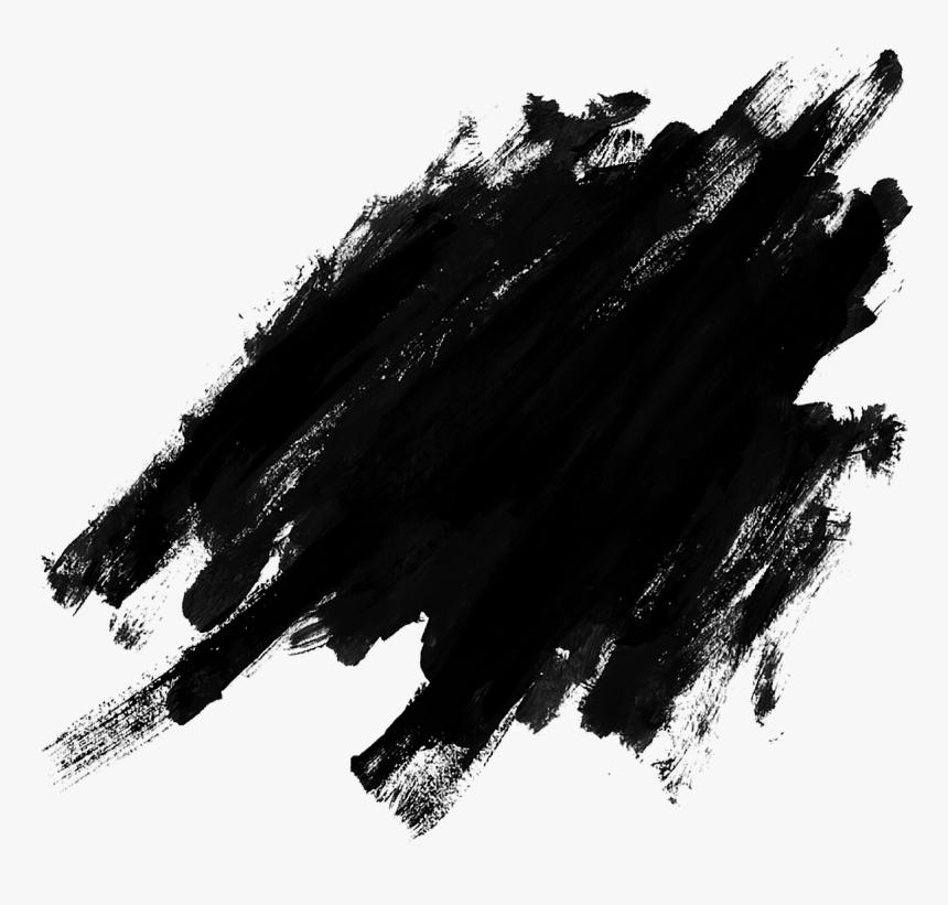 Black Splatter Png Free Picture - Brush Stroke Vector Png, Transparent Png, Free Download