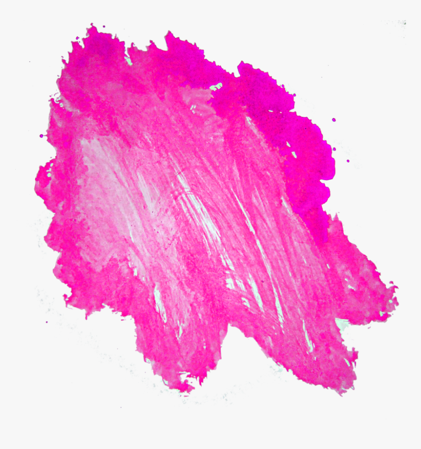 Pink Stain Free Png - Paint Stains Free Png, Transparent Png, Free Download