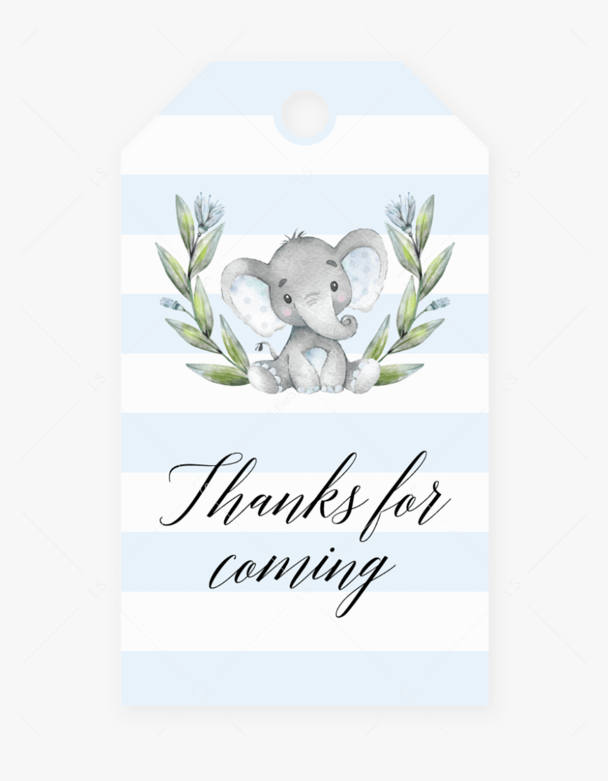 "Favor Tag Printable For Boy Baby Shower By Littlesizzle"", HD Png Download, Free Download"