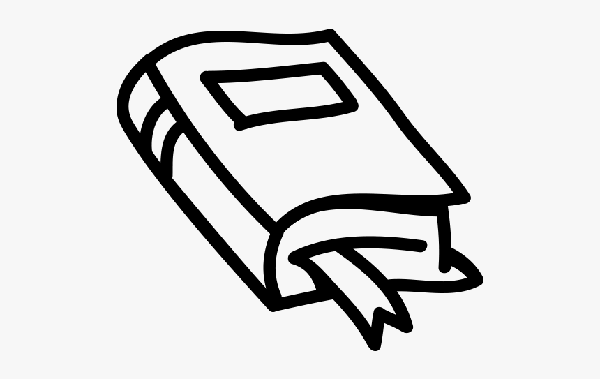 Book Clipart - Book Library Clipart Black And White, HD Png Download, Free Download