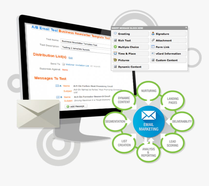 Email Marketing , Png Download - Email Marketing Png Img, Transparent Png, Free Download
