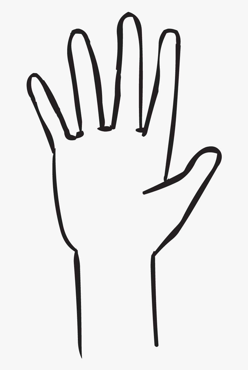 One Hand With Outstretched Fingers As Seen In Fist Clipart Black White Five Fingers Hd Png Download Kindpng Flower black and white ornament, hand painted plants, watercolor painting, flower arranging, white png. white five fingers hd png download