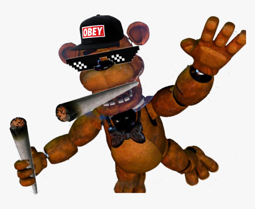 #fnaf #mlg - Freddy Fazbear Fnaf 6, HD Png Download, Free Download