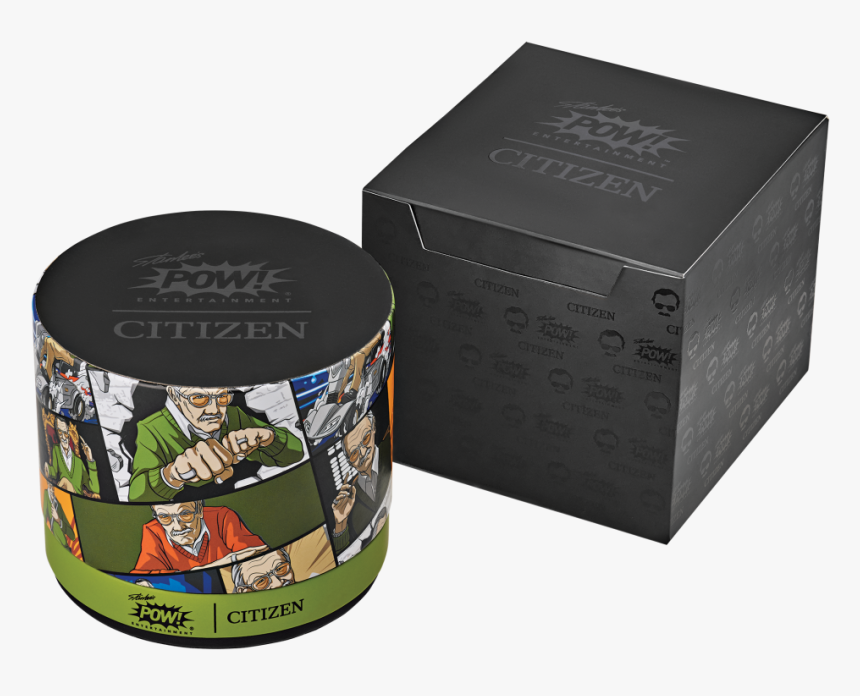 Stan Lee Box View - Stan Lee Citizen Watch, HD Png Download, Free Download