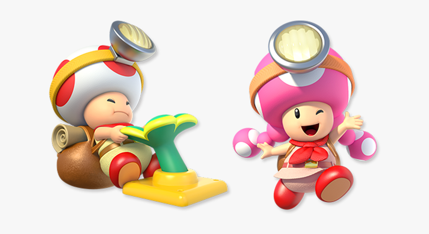Captaintoad - Captain Toad Treasure Tracker Toadette, HD Png Download, Free Download