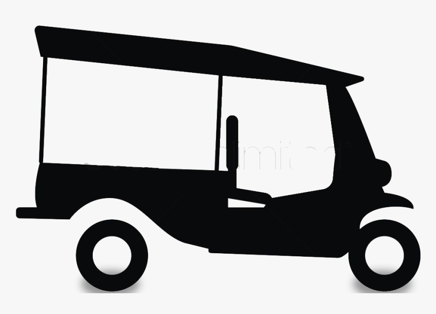 Industry Clipart Manufacturer - Clipart Of E Rickshaw, HD Png Download, Free Download