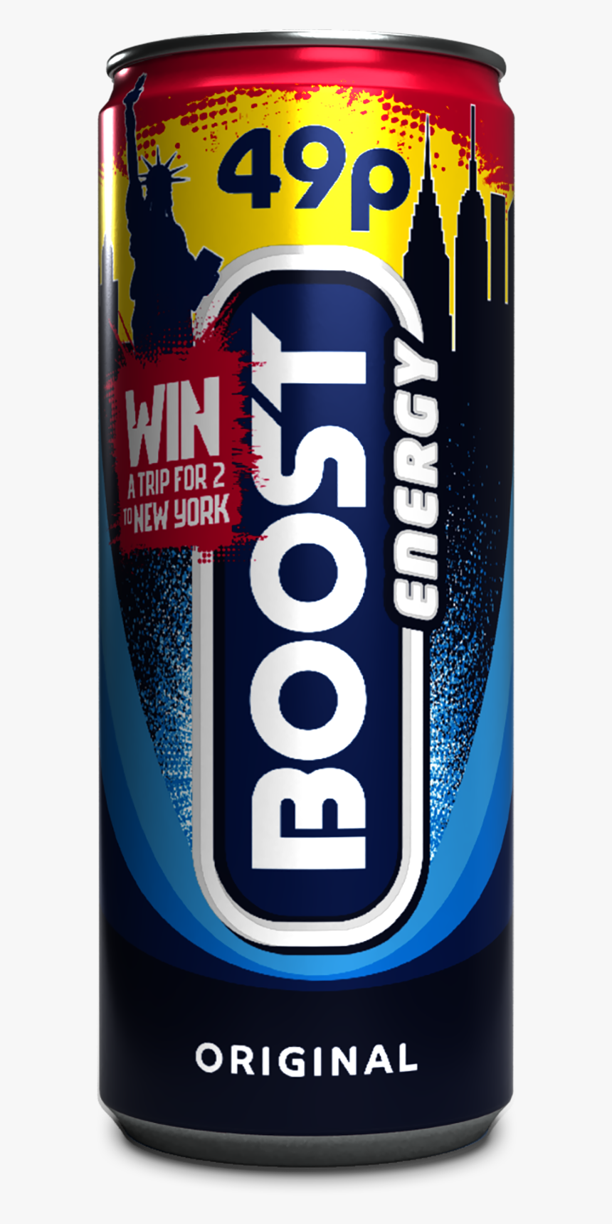 Boost Energy Original Can 250 Ml, HD Png Download, Free Download