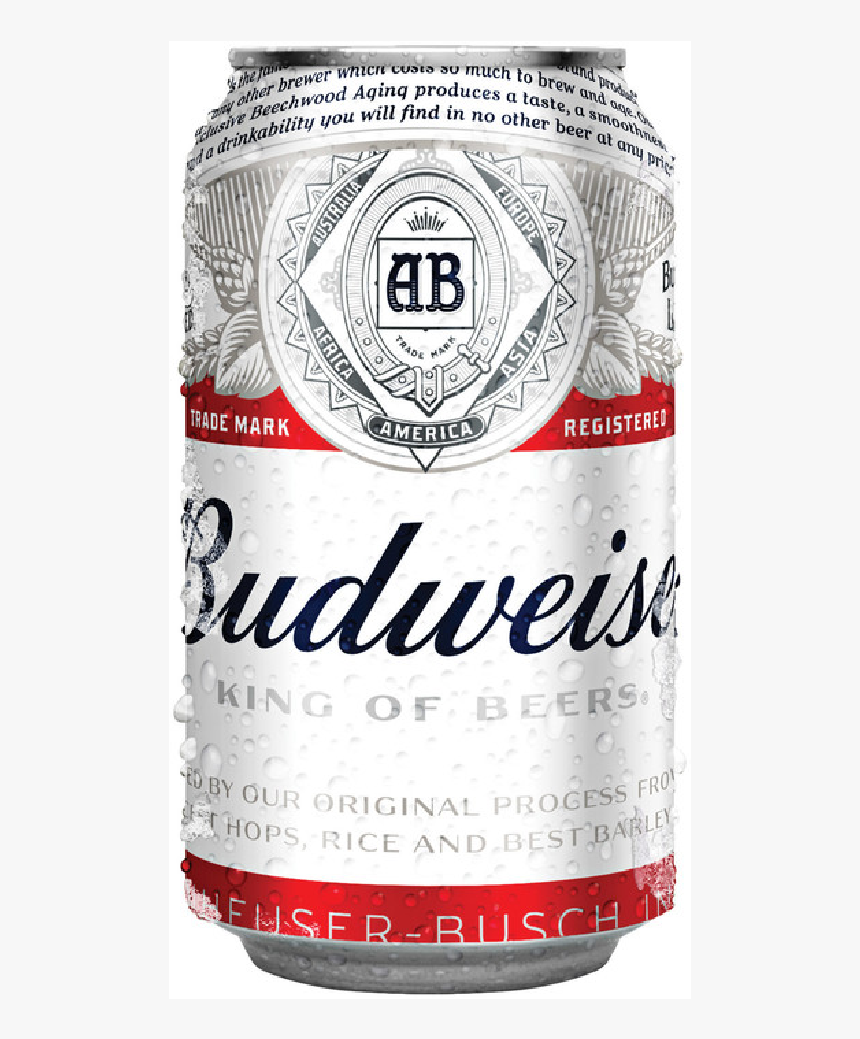 Budweiser Can - Bud Beer Can, HD Png Download, Free Download
