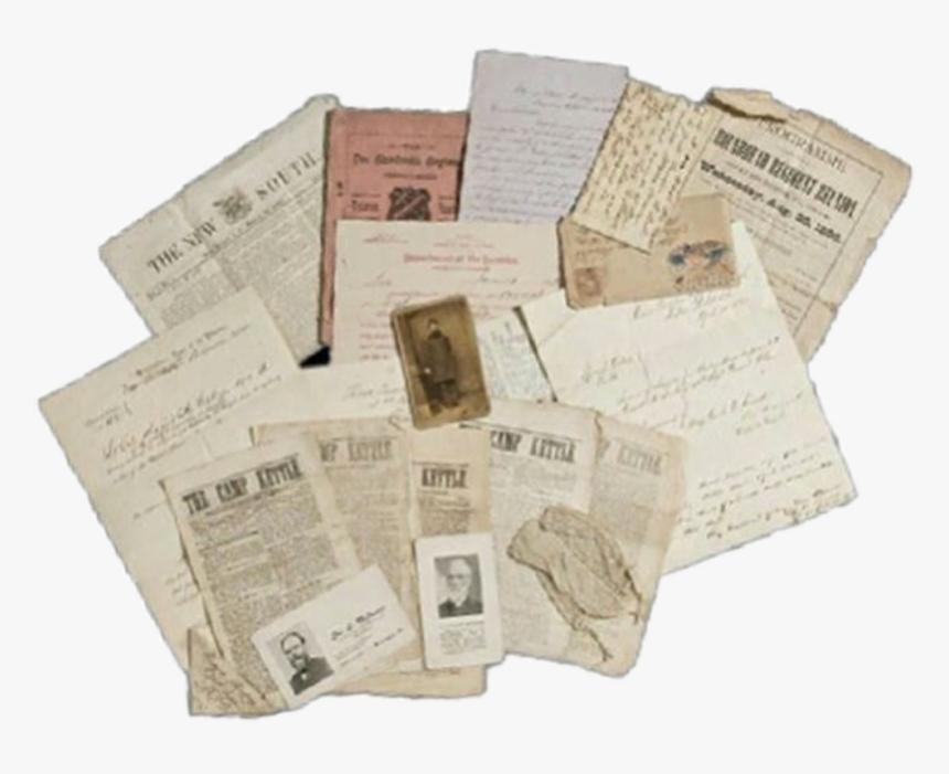#old #letters #paper #saimantarrat - Paper, HD Png Download, Free Download