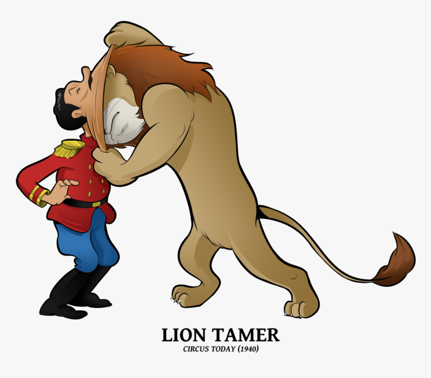 Transparent Cartoon Lion Png - Circus Today Merrie Melodies, Png Download, Free Download