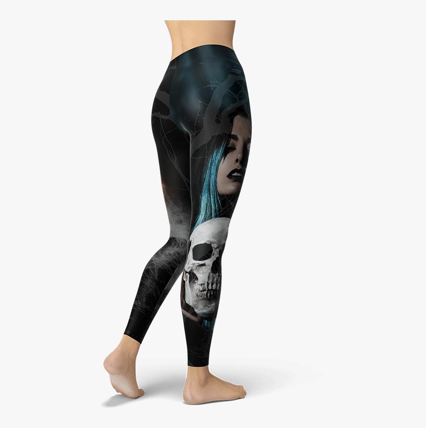 Smoke Skulls Leggings Yoga Pants Activewear For Women Leggings Hd Png Download Kindpng