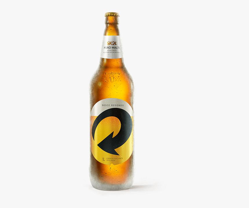 Cerveja Skol 1 Litro, HD Png Download, Free Download