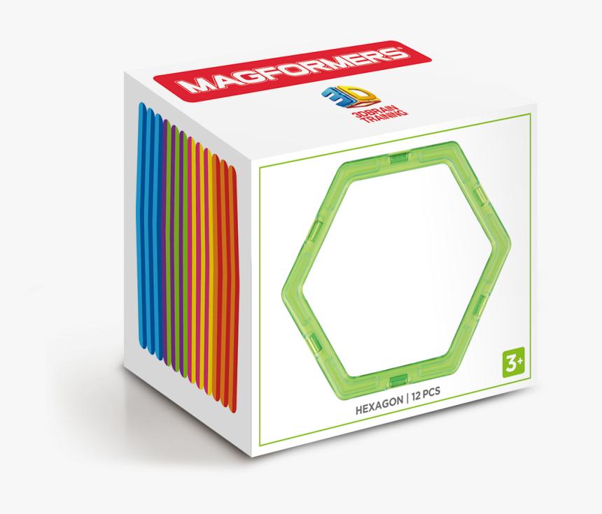 Hexagon 12pc Set - Magformers Hexagon, HD Png Download, Free Download
