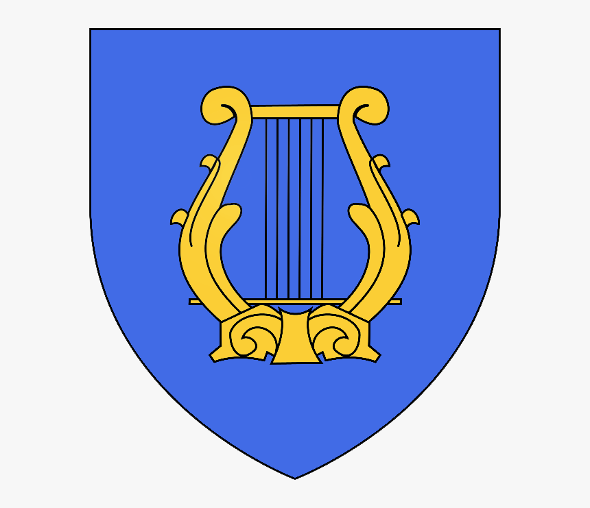 La Lyre Du Roi David - Emblem, HD Png Download, Free Download
