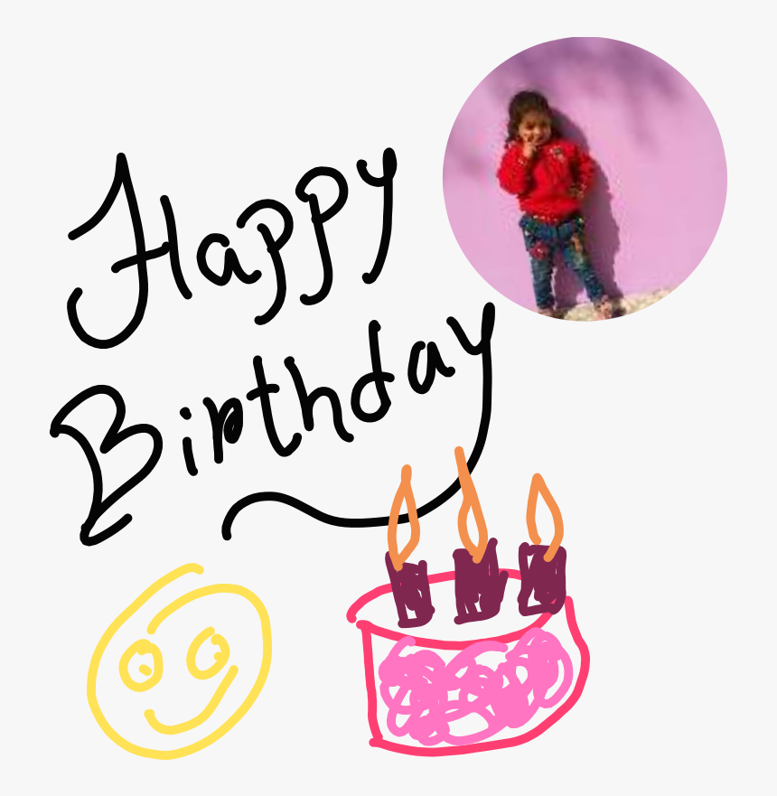 Happy Birthday Cute Little - Birthday Party, HD Png Download, Free Download