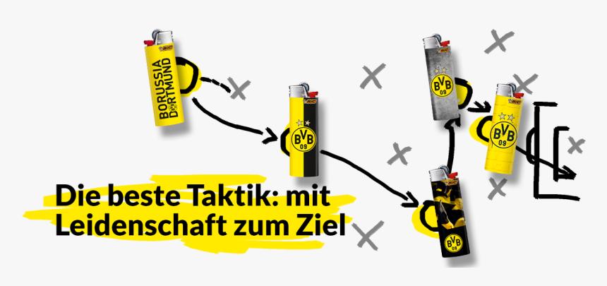 Bvb Sammeln Mit Spieltaktik - Beer, HD Png Download, Free Download