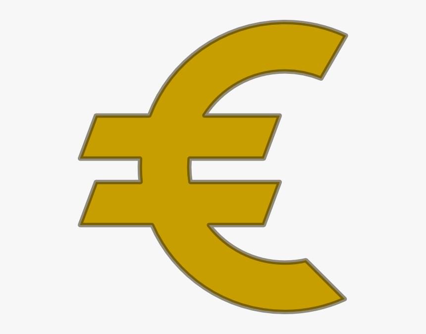 Euro Clipart 1 Euro Coin Clip Art - Euro Clip Art, HD Png Download, Free Download