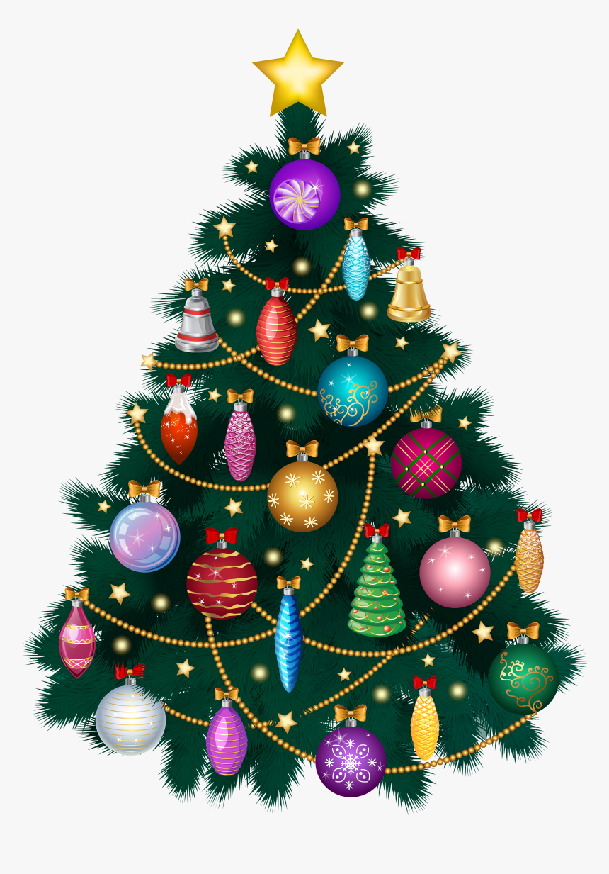 Transparent Background Free Christmas Tree Png, Png Download, Free Download