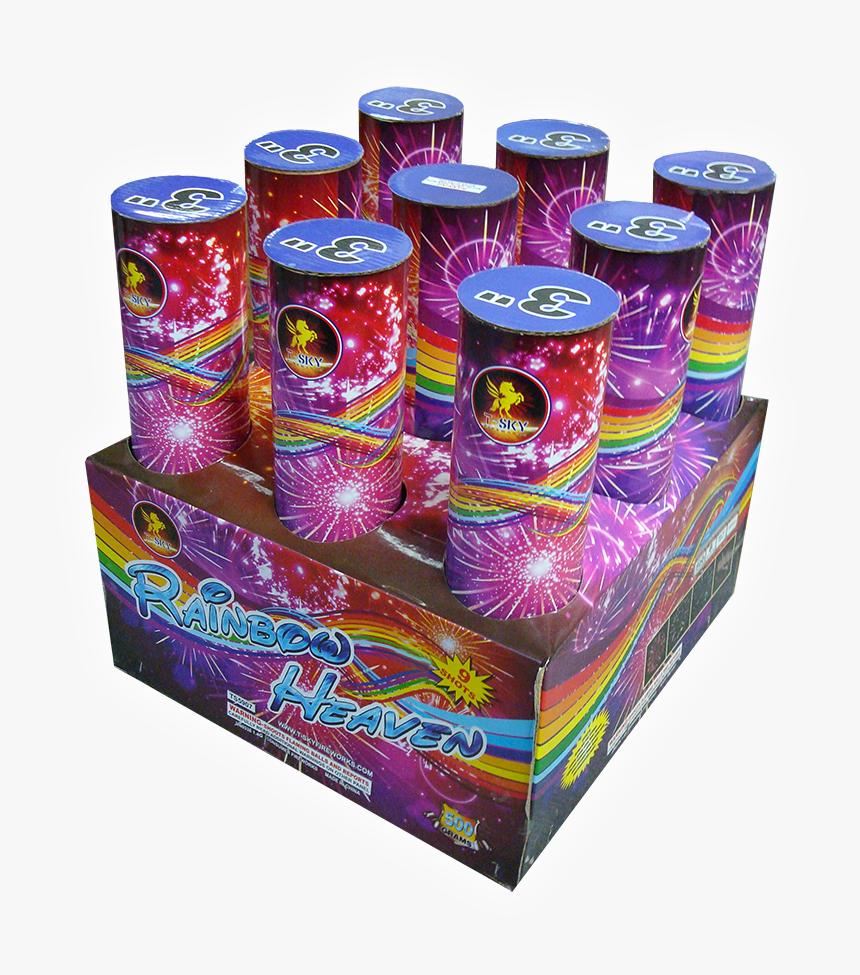 Rainbow Rocket Shot Firecracker, HD Png Download, Free Download