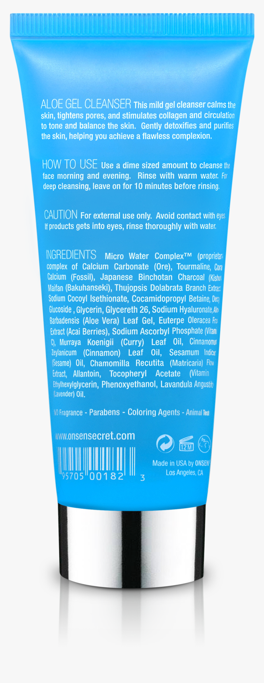 Aloe Gel Cleanser - Cosmetics, HD Png Download, Free Download