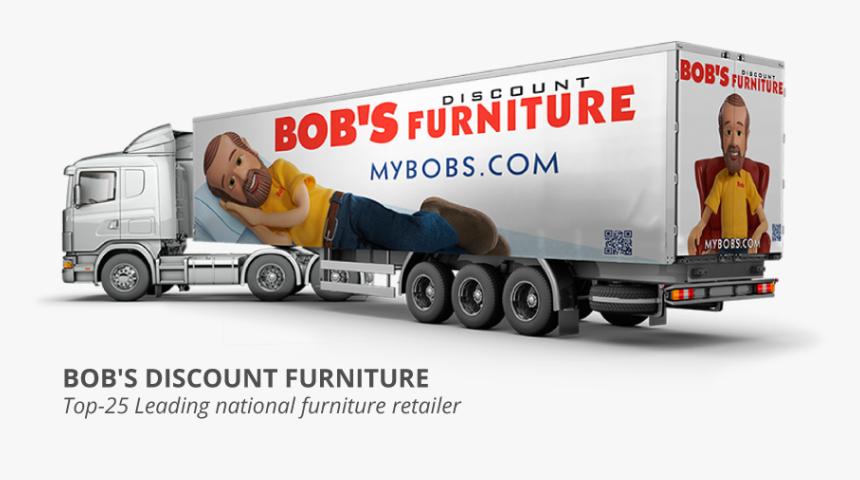 Bob's Discount Furniture Truck, HD Png Download, Free Download