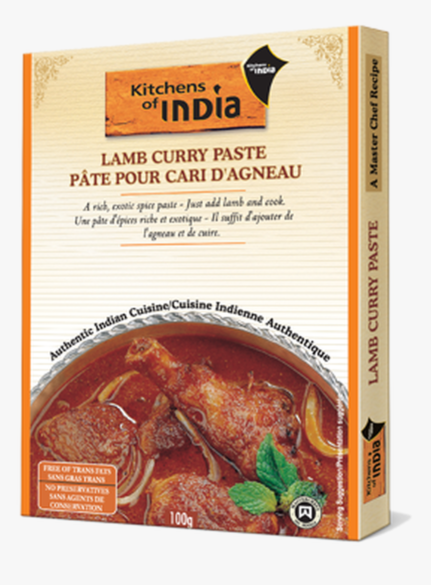 Lamb Curry Paste - Kitchens Of India, HD Png Download, Free Download
