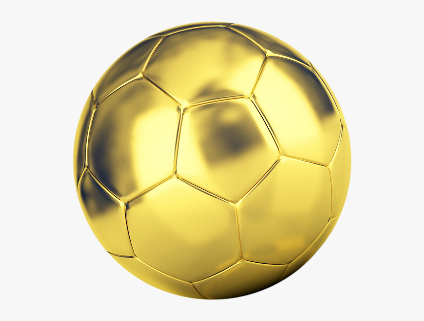Transparent Soccer Ball On Grass Clipart - Soccer Ball Gold Png, Png Download, Free Download