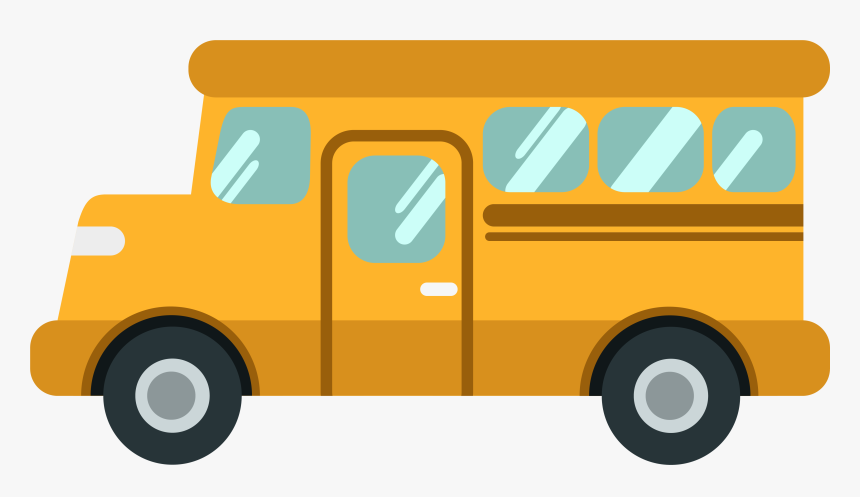 School Bus Cartoon School Bus Animated Png Transparent Png