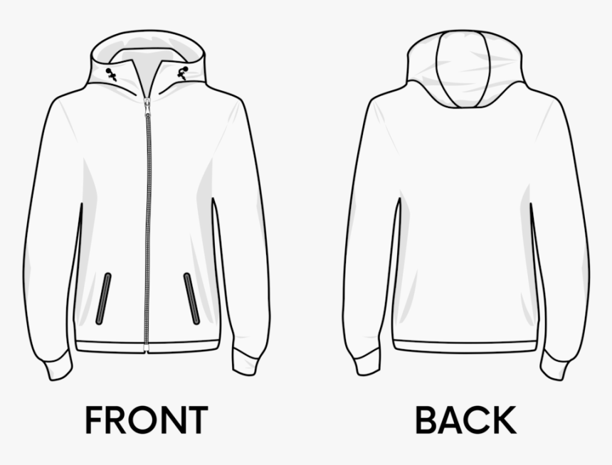 Text,shoe,monochrome - Transparent Hoodie Template Png, Png Download, Free Download