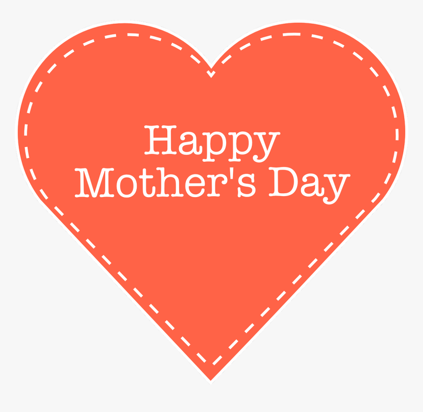 "Happy Mother""s Day, Mom, Love, Mother, Child, Greeting - Happy Mothers Day Heart, HD Png Download, Free Download"