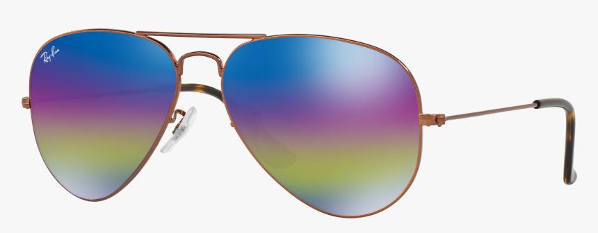 Sunglasses Ray-ban Mirrored Ban Wayfarer Aviator Ray - Ray Ban Rb 3025 L2823, HD Png Download, Free Download