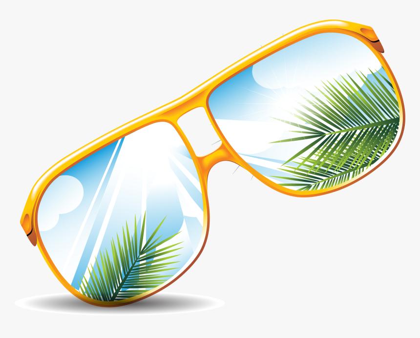 Sunglasses Ray Ban Goggles Vector Reflective Glasses - Sunglasses, HD Png Download, Free Download