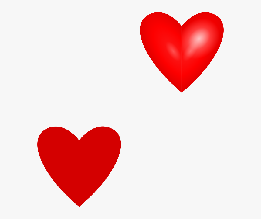 Love Hearts Svg Clip Arts - Red Heart Vector File, HD Png Download, Free Download