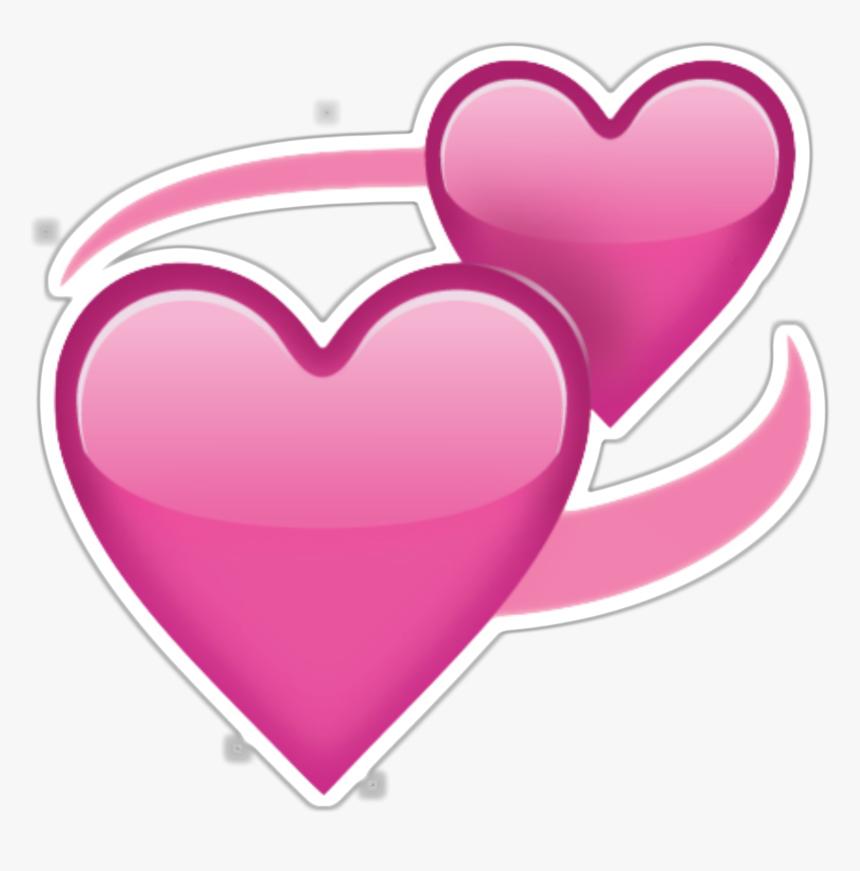 Pink Heart Emoji Png - Love Heart Emoji Transparent, Png Download, Free Download
