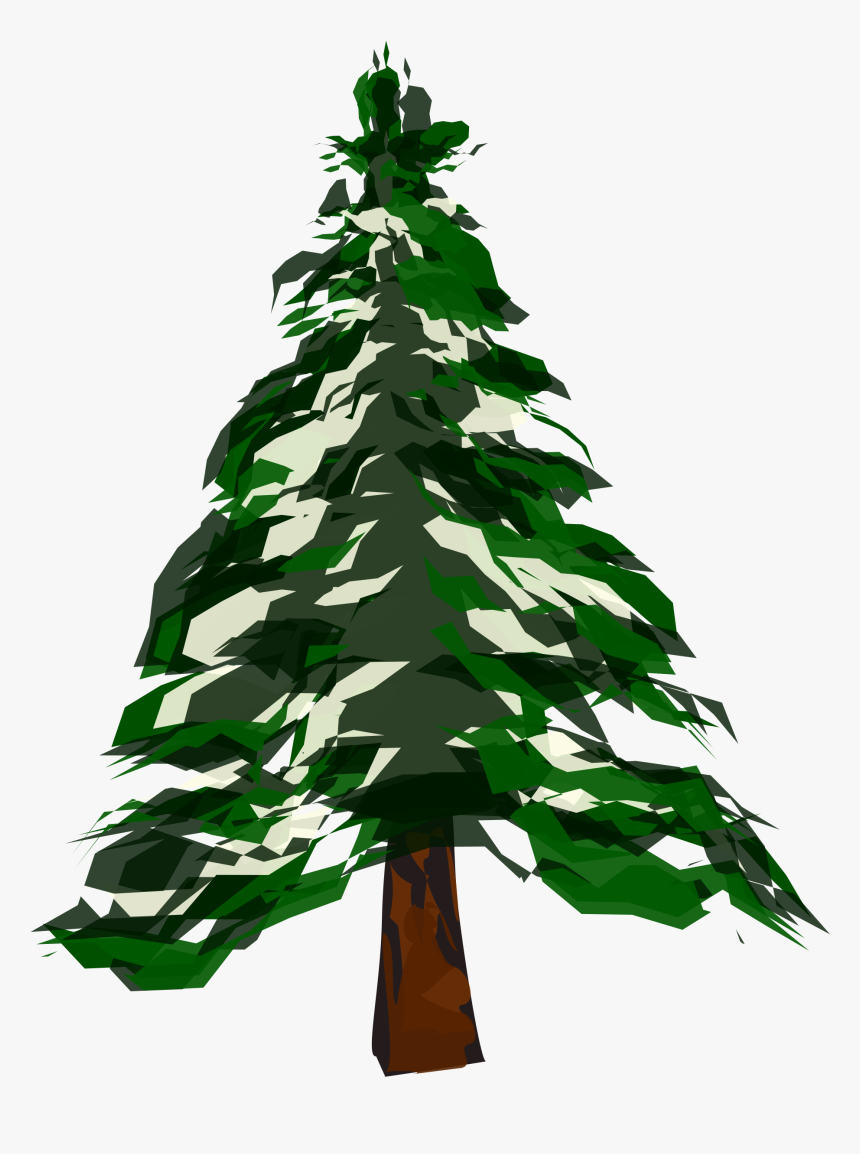 Winter Tree Clipart, HD Png Download, Free Download