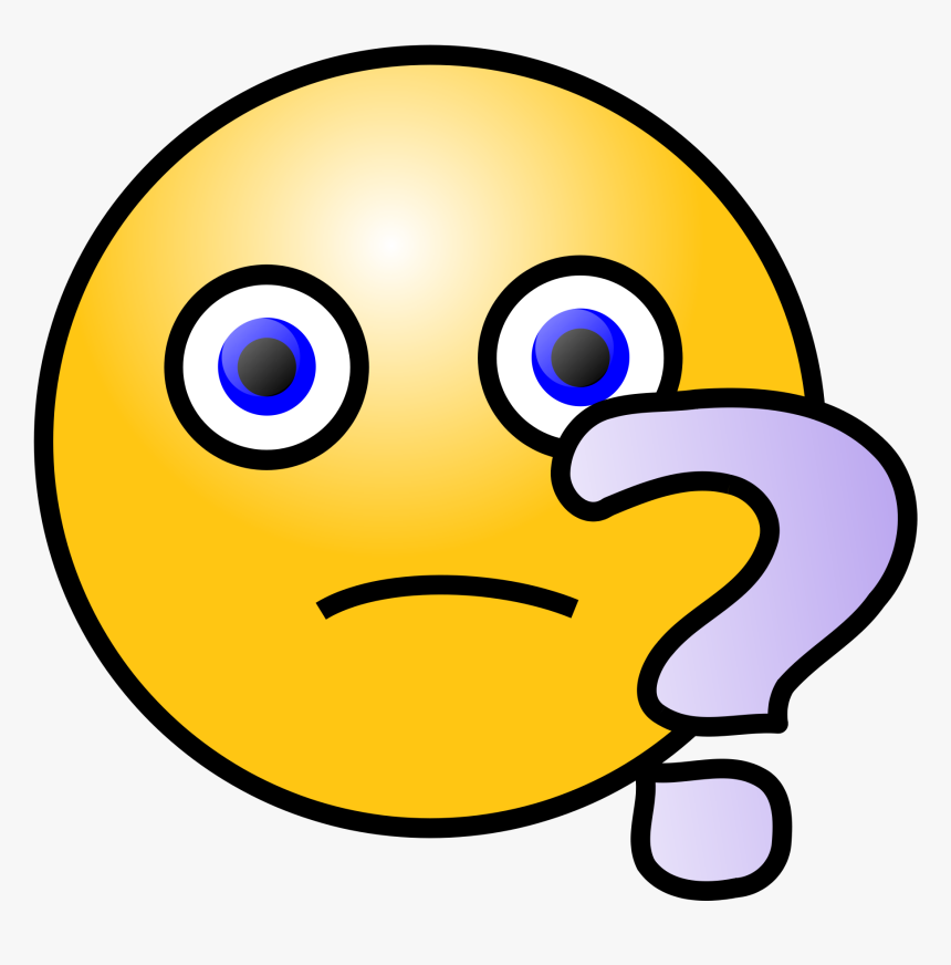 Ask A Question Emoji, HD Png Download, Free Download