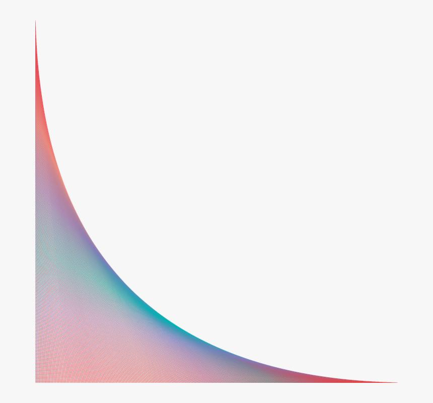 Curva, Color, Líneas, Diapositiva, Colores, Esquina - Lineas De Colores Png, Transparent Png, Free Download