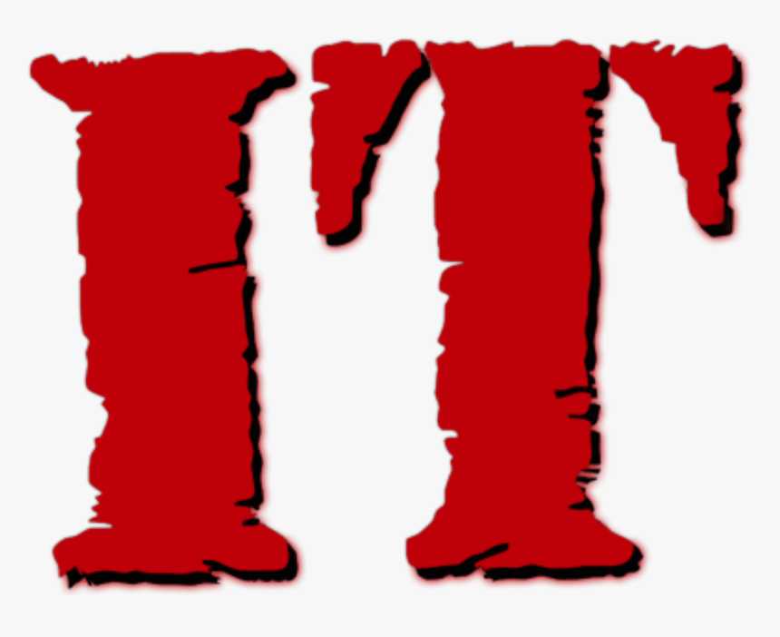 It Logo - Stephen Kings It 1990 Pennywise Png, Transparent Png, Free Download
