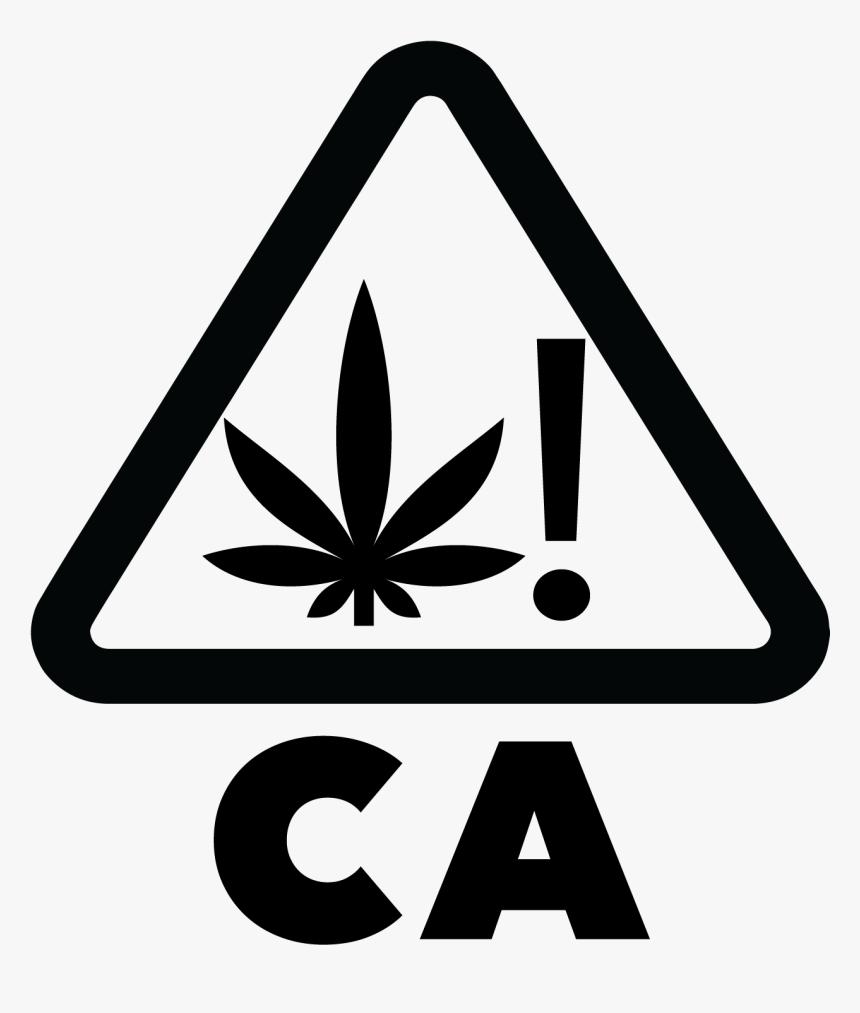 California Universal Symbol For Cannabis - California Cannabis Symbol, HD Png Download, Free Download