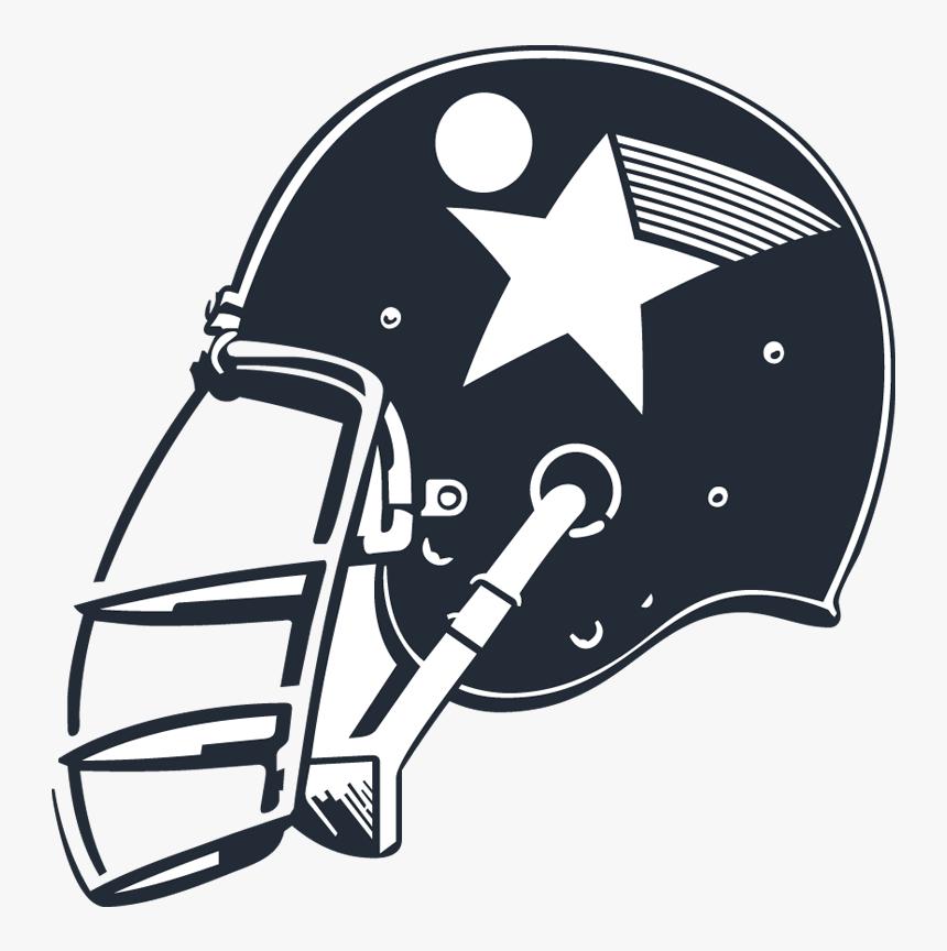 Football Helmet Lacrosse Helmet Ice Hockey - Hockey Helmet Vector Png, Transparent Png, Free Download