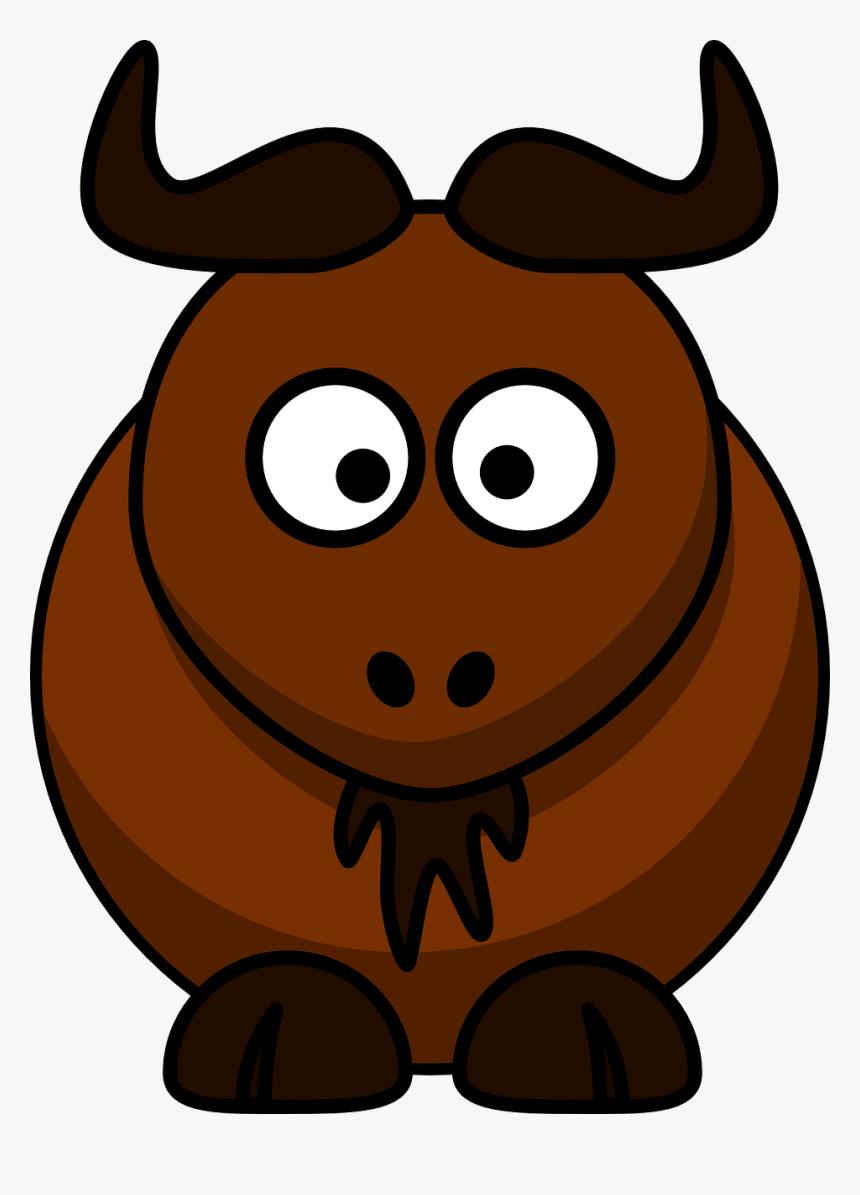 Cartoon Gnu, HD Png Download, Free Download