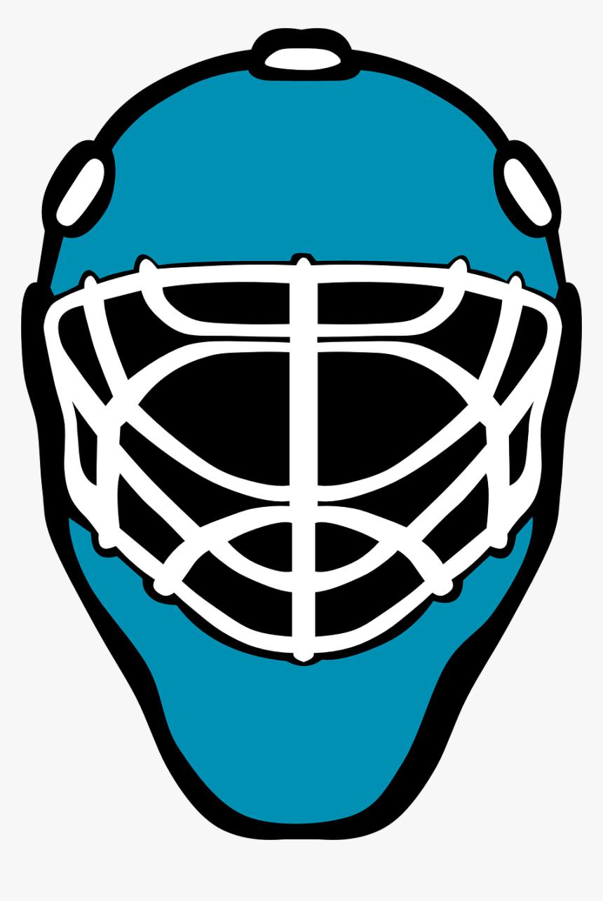 Hockey Goalie Helmet Clipart, HD Png Download, Free Download